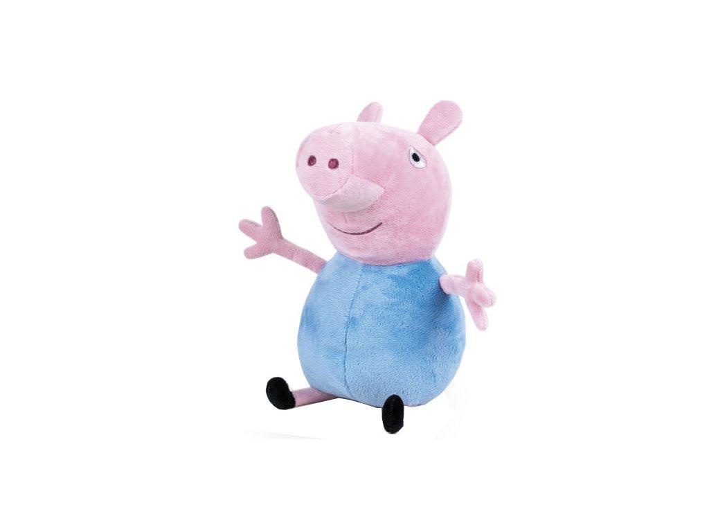 PLYŠ Prasátko Peppa Pig 20 cm modrý (9659)