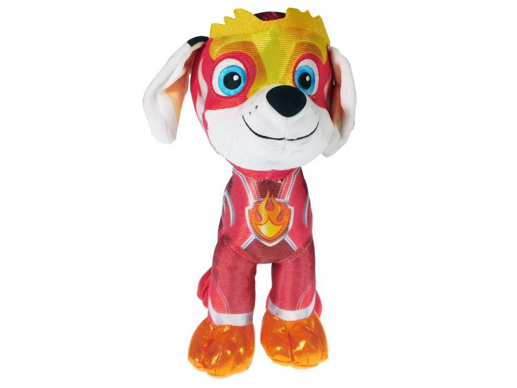 Plyšová figurka Tlapková patrola Super Mighty Pups Marshall (6558)