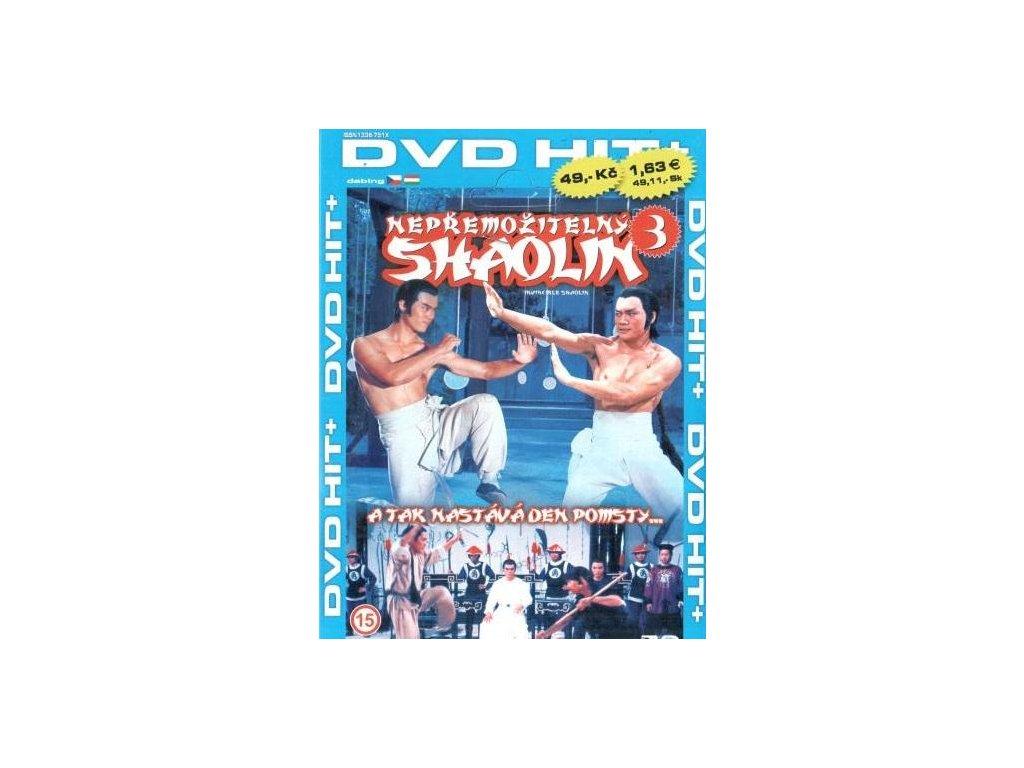Nepřemožitelný Shaolin DVD papírový obal (3738)