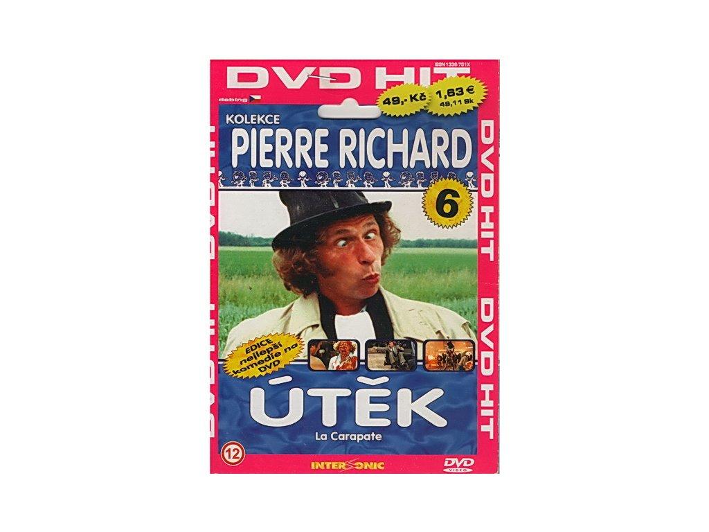 Útěk Pierre Richard DVD papírový obal (3608)
