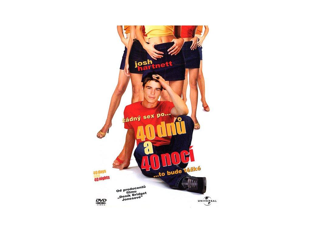 40 dnů a 40 nocí DVD papírový obal (0595)