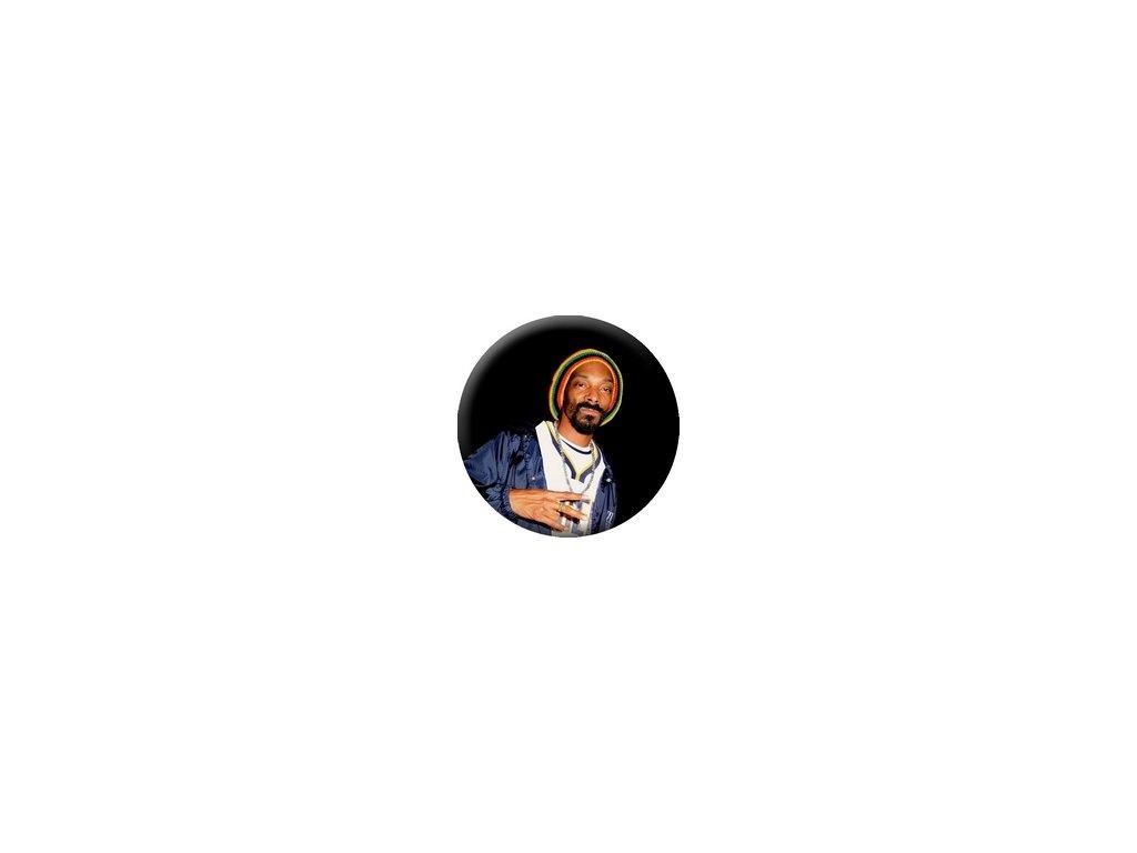 Placka Snoop Dogg 25mm (087)