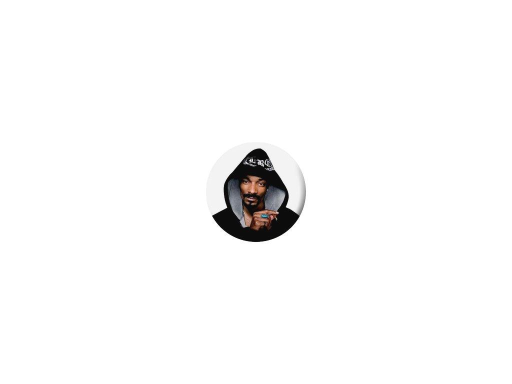 Placka Snoop Dogg 25mm (100)