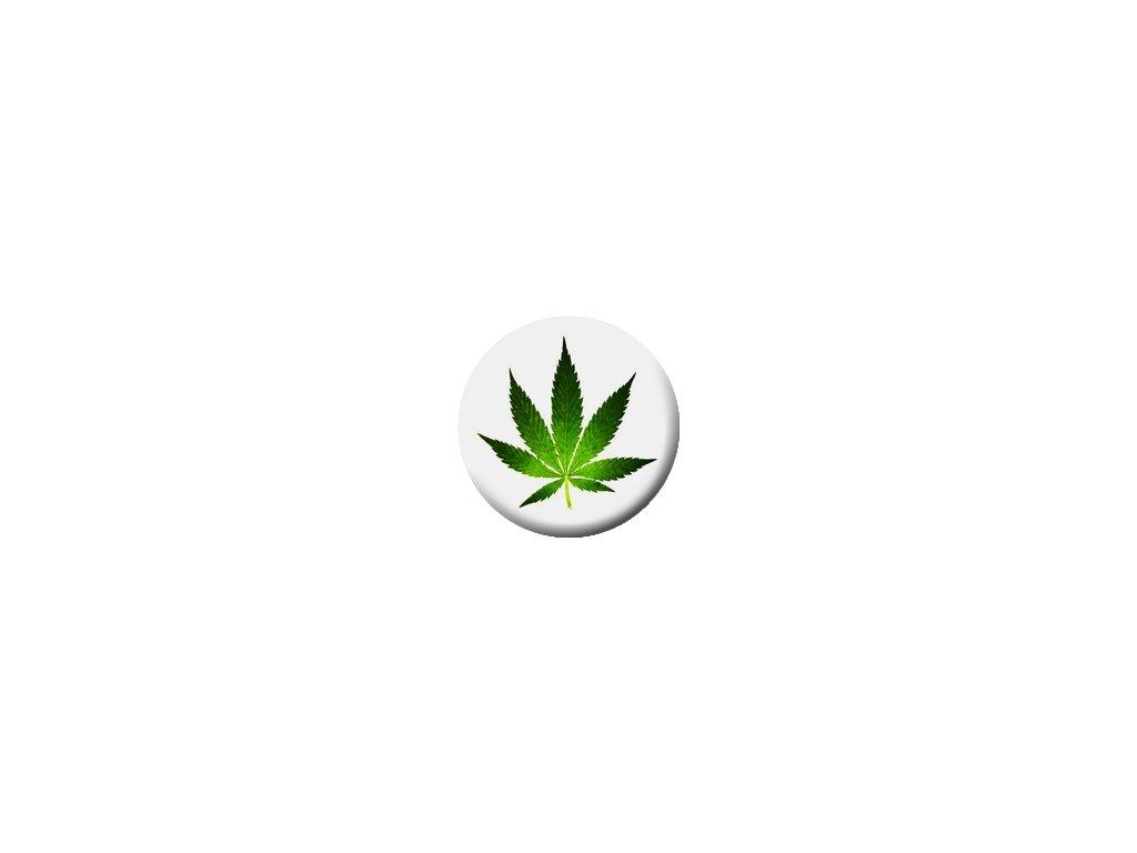Placka Marihuana 25mm (107)