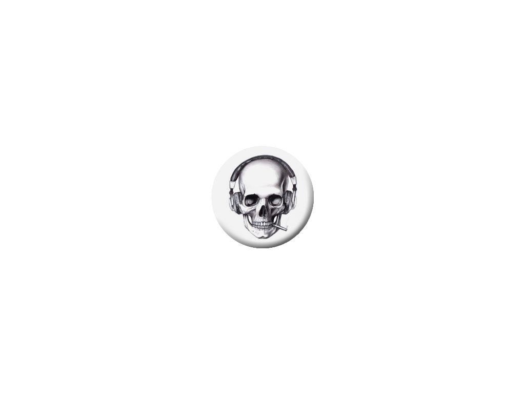 Placka Sound Skull 25mm (109)