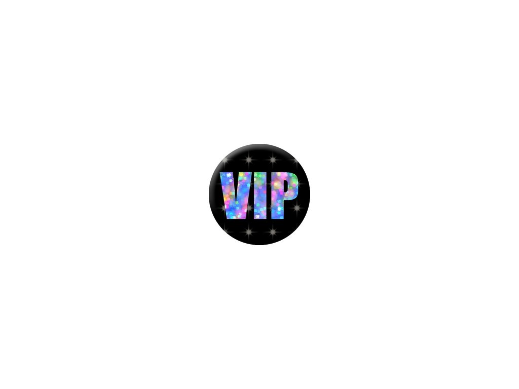 Placka VIP 25mm (116)