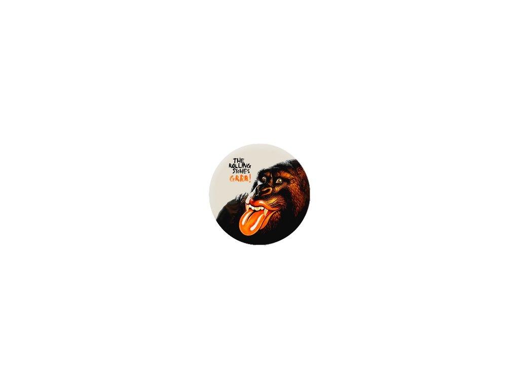 Placka Rolling Stones 25mm (117)