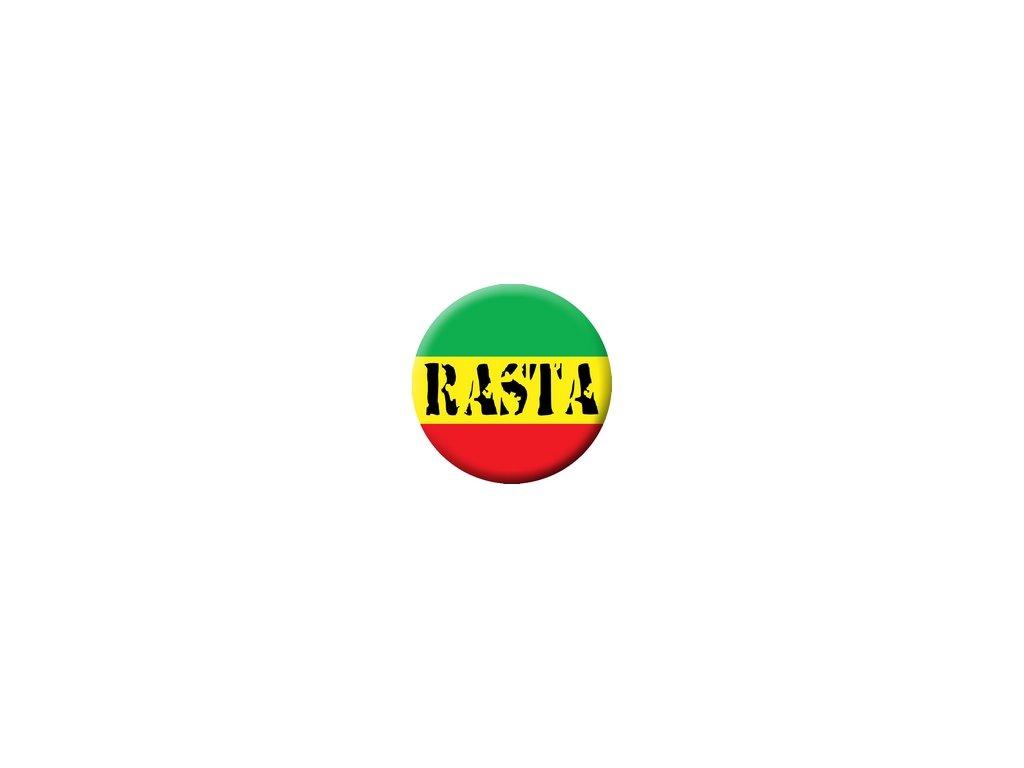 Placka Rasta 25mm (141)