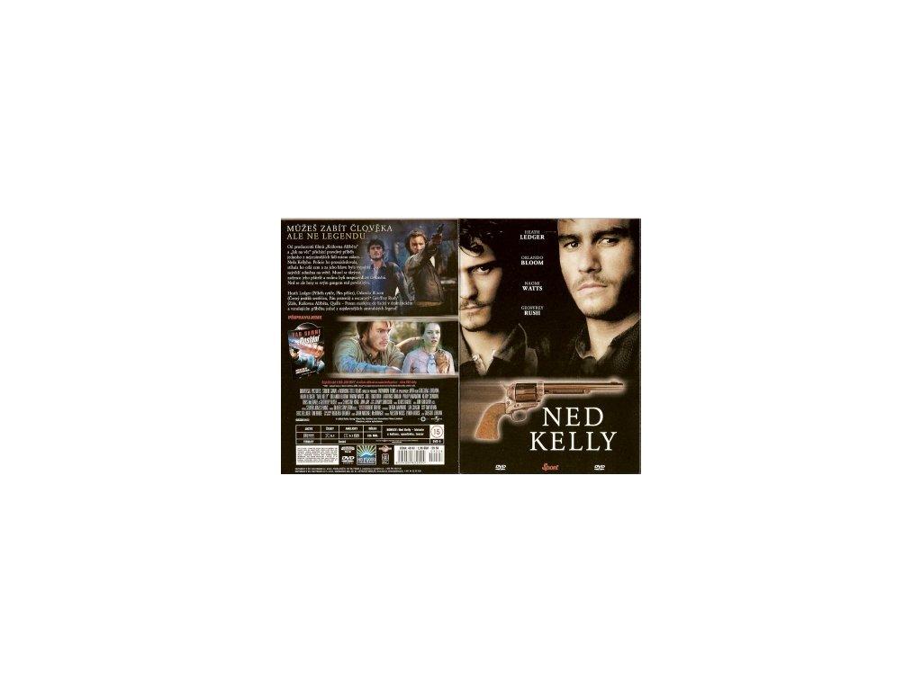 Ned Kelly DVD papírový obal