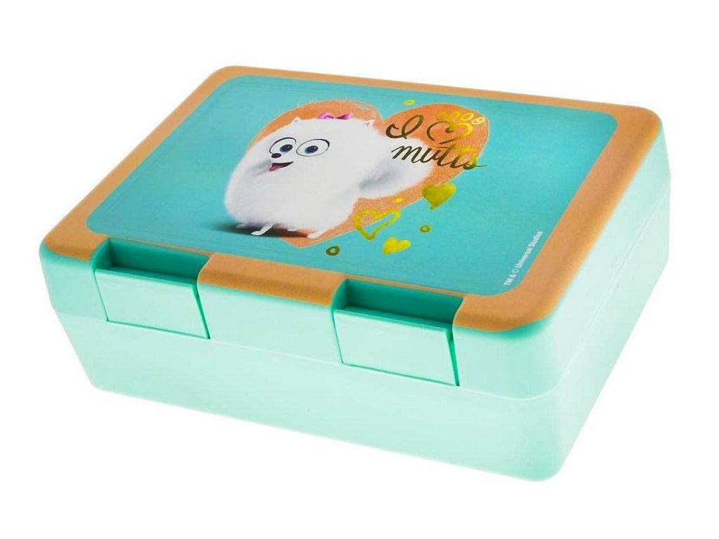 Box na svačinu Tajný život mazlíčků Gidget (0234)