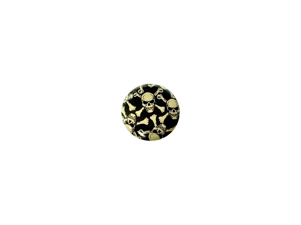Placka Skull 25mm (210)