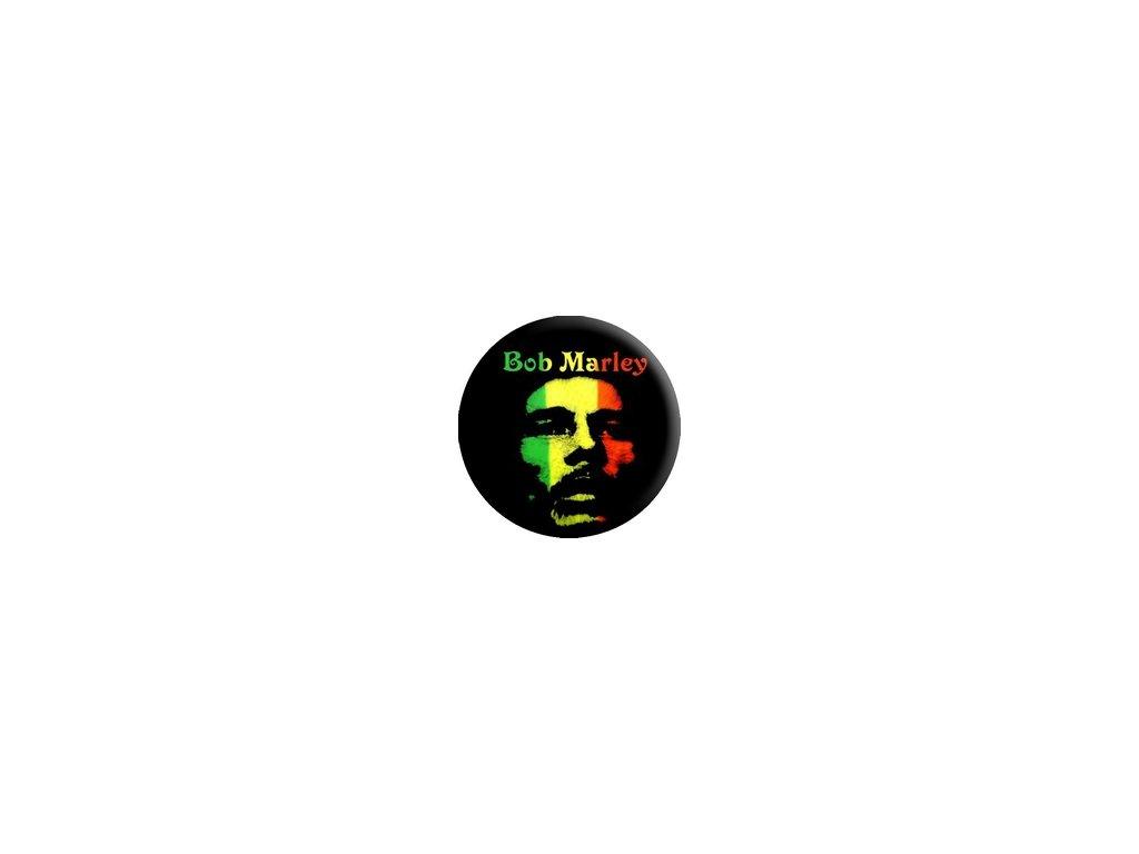 Placka Bob Marley 25mm (217)