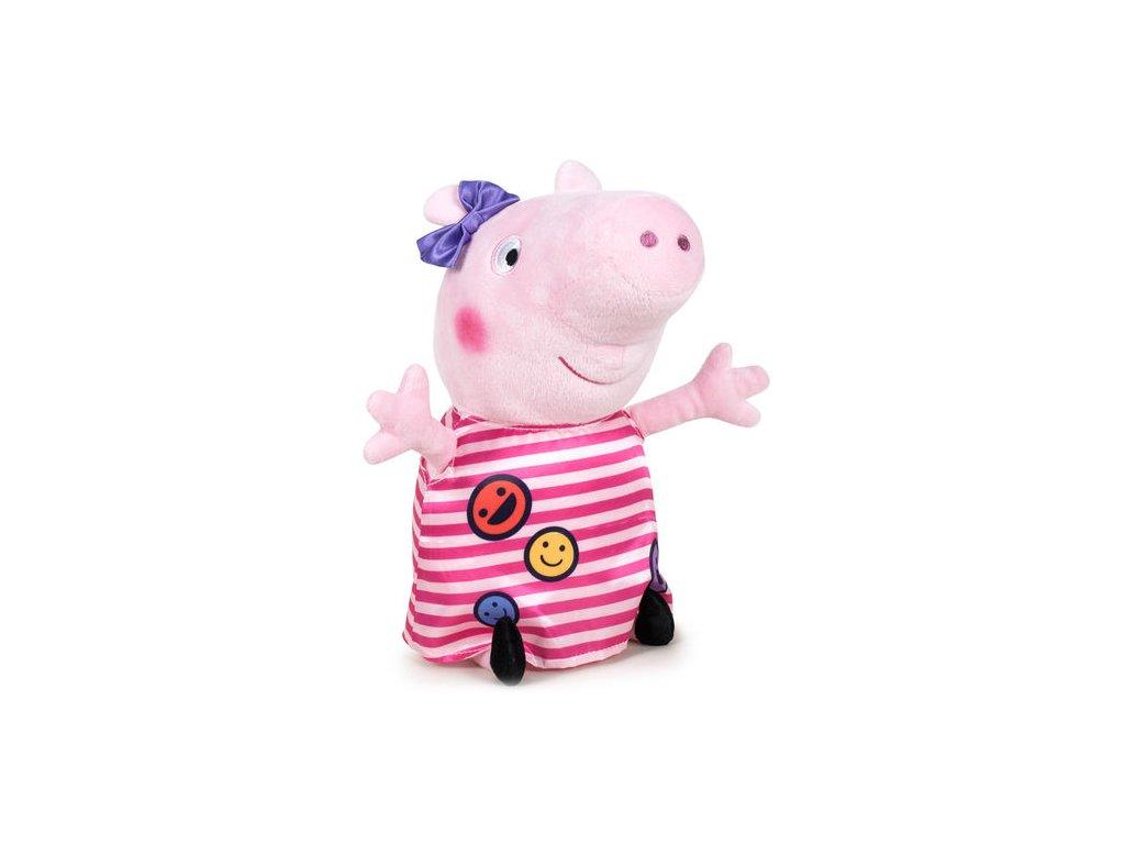 PLYŠ Prasátko Peppa Pig 20 cm smajlíci (5940)
