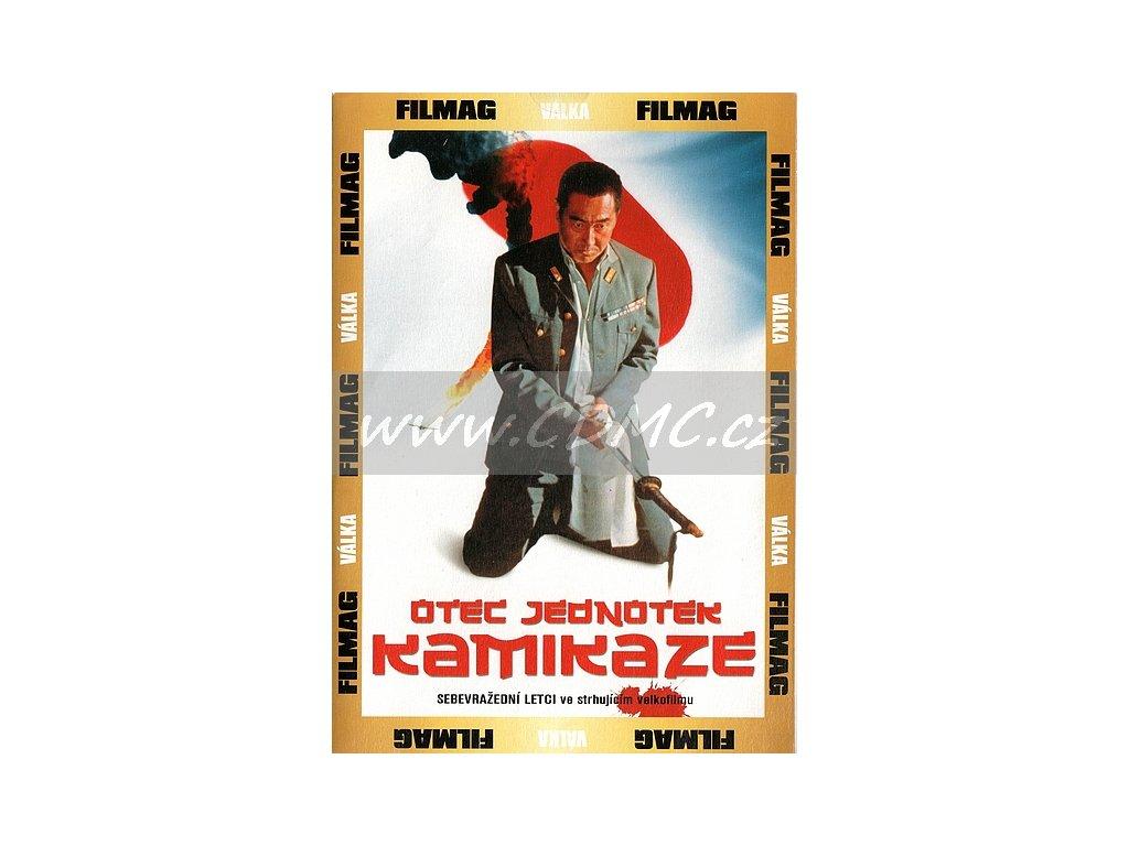 Otec jednotek Kamikaze DVD papírový obal