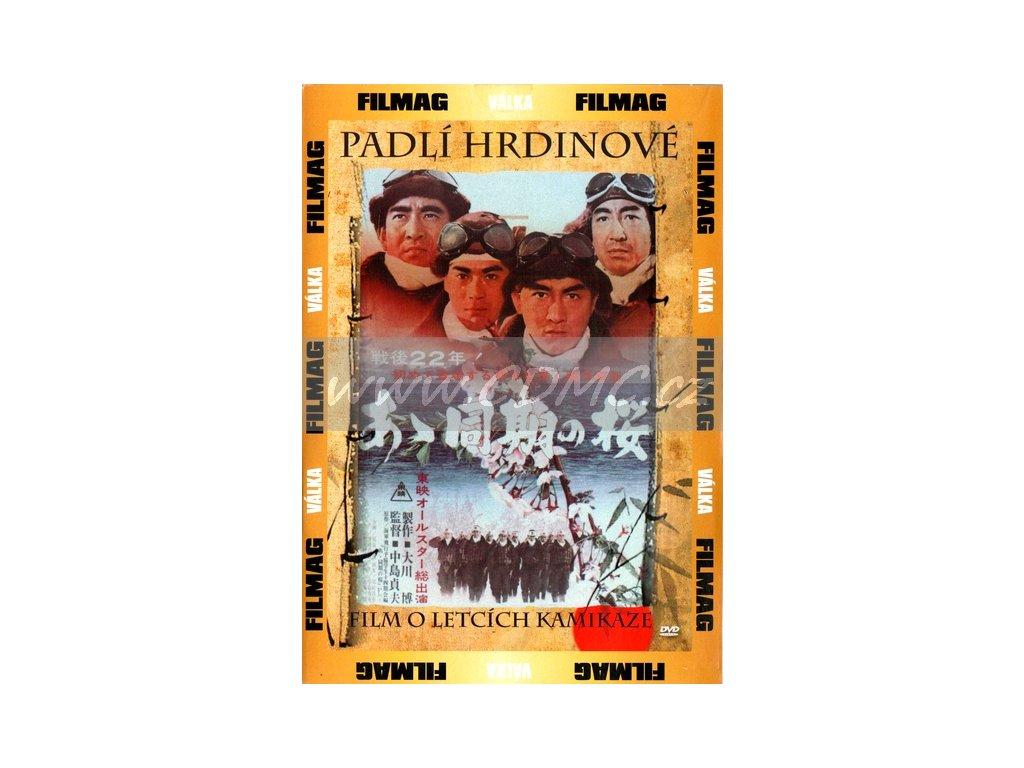 Padlí hrdinové DVD papírový obal