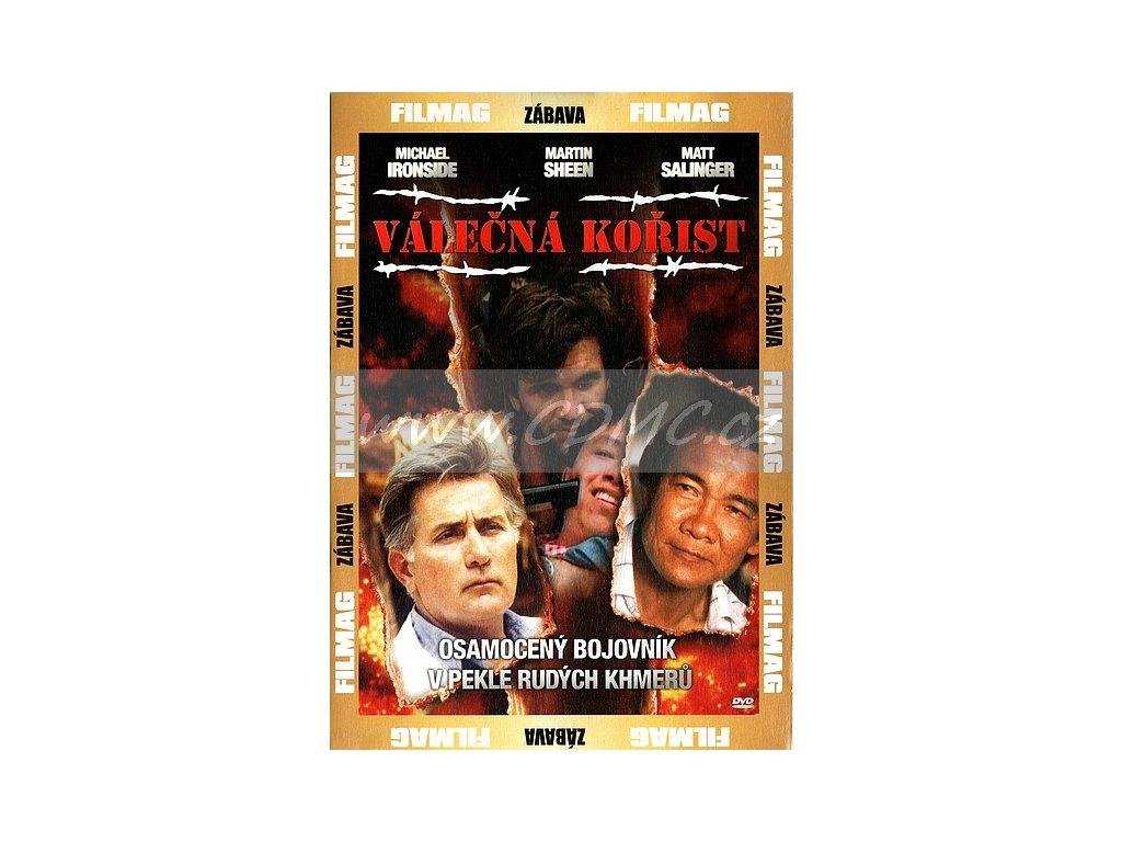 Válečná kořist DVD papírový obal