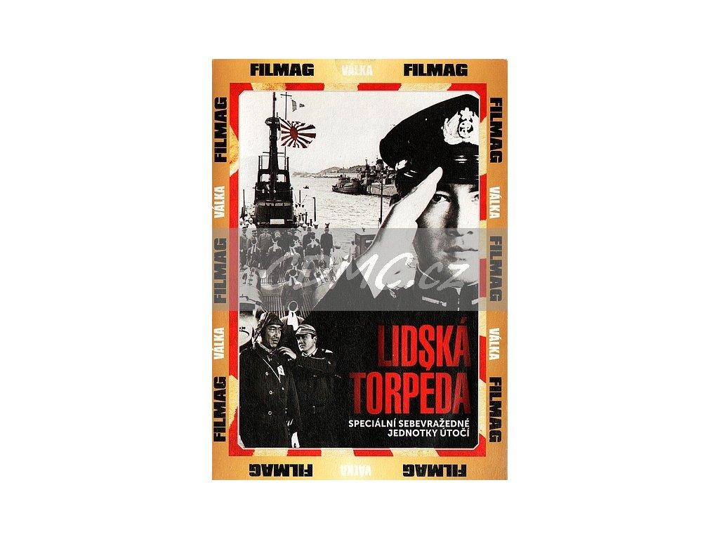 Lidská torpéda DVD papírový obal