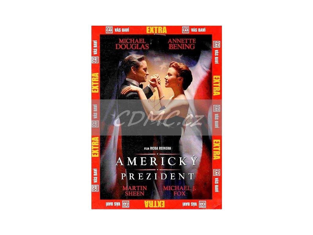 Americký prezident DVD papírový obal