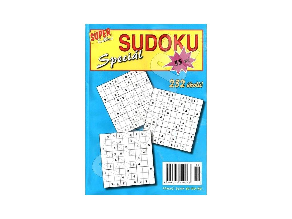 Super Luštění Sudoku Speciál (0241) trhací blok 232 úkolů