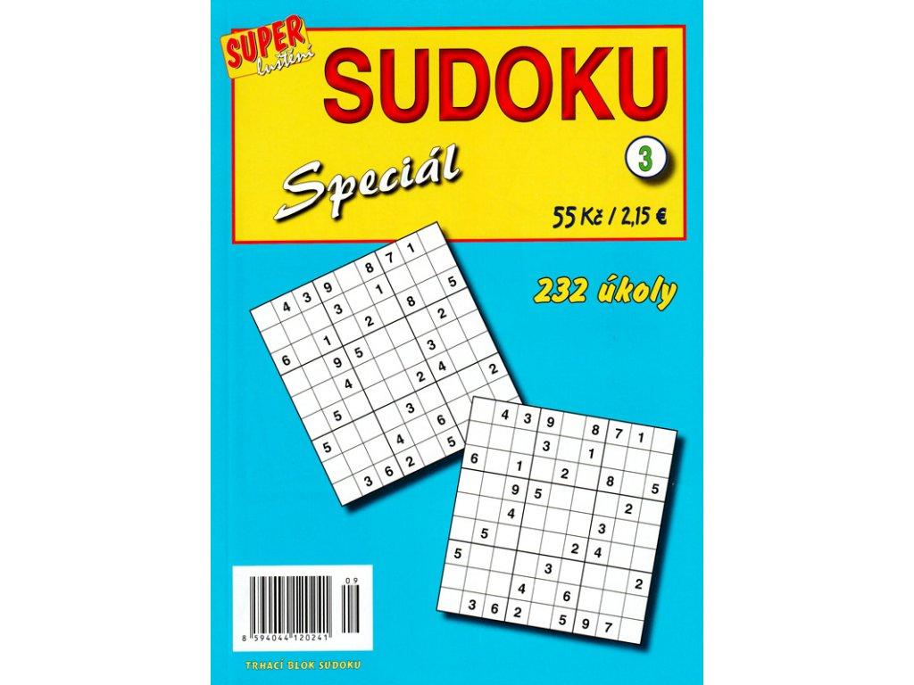 Sudoku Speciál 3 - 232 úkoly (0241)