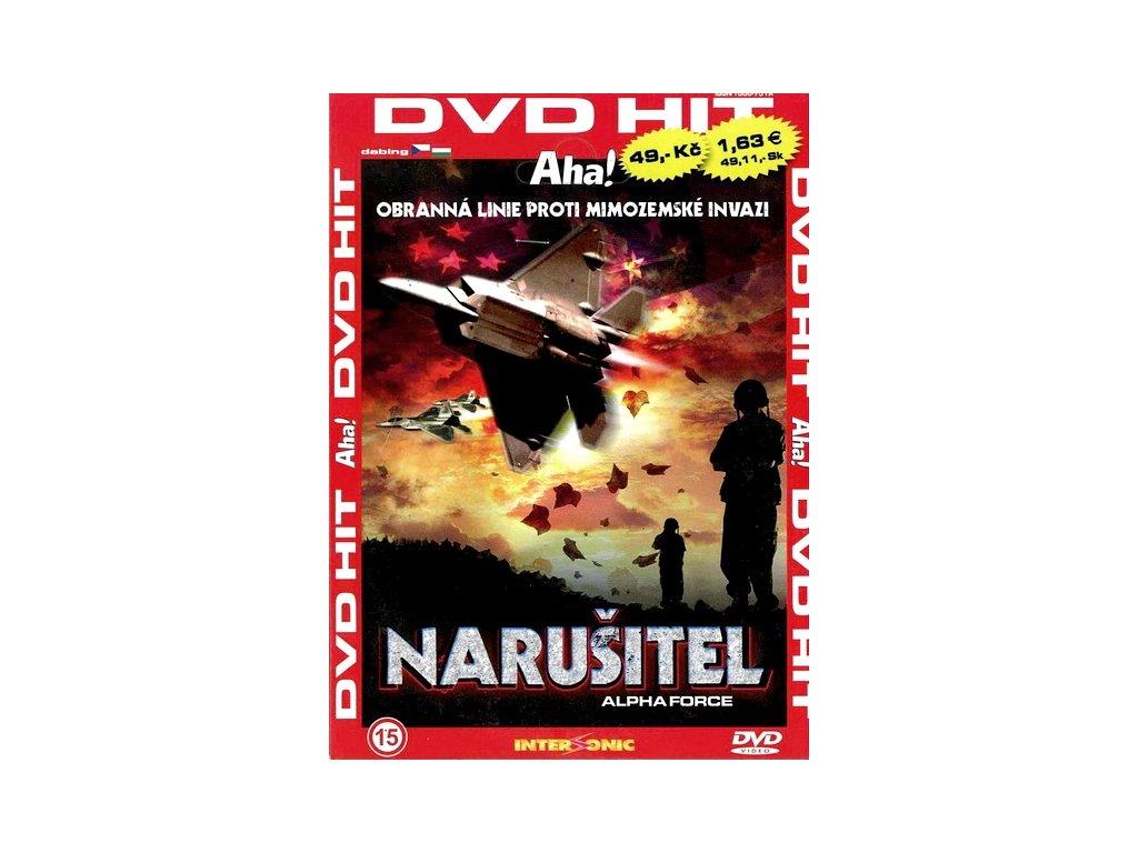 Narušitel DVD papírový obal