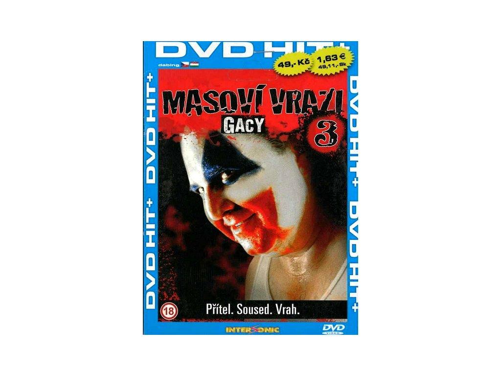 Masoví vrazi 3 Gacy DVD papírový obal