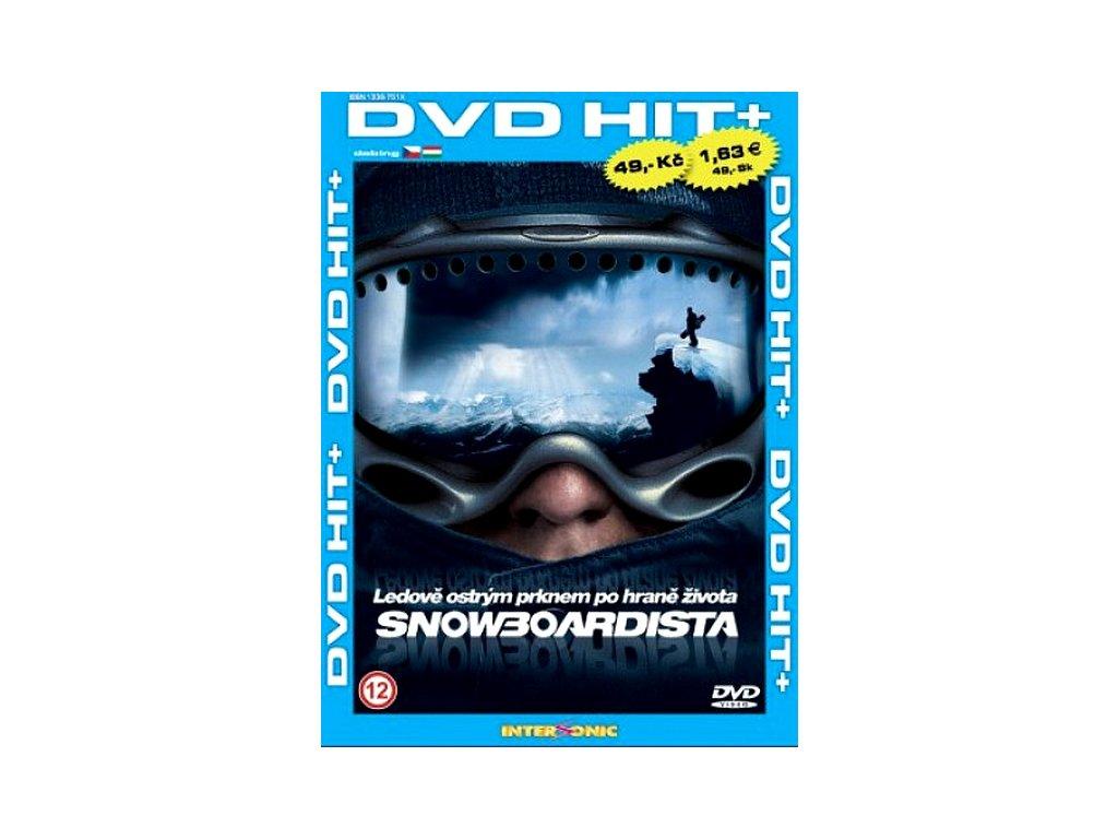 Snowboardista DVD papírový obal