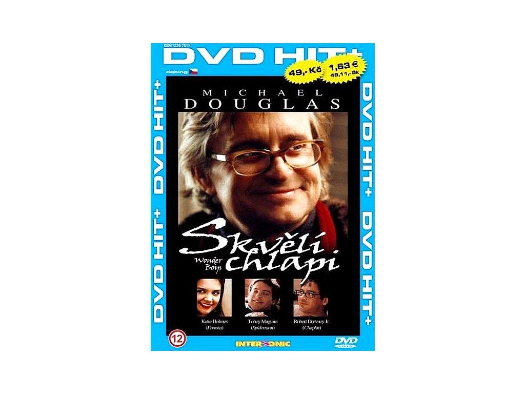 Skvělí chlapi DVD papírový obal