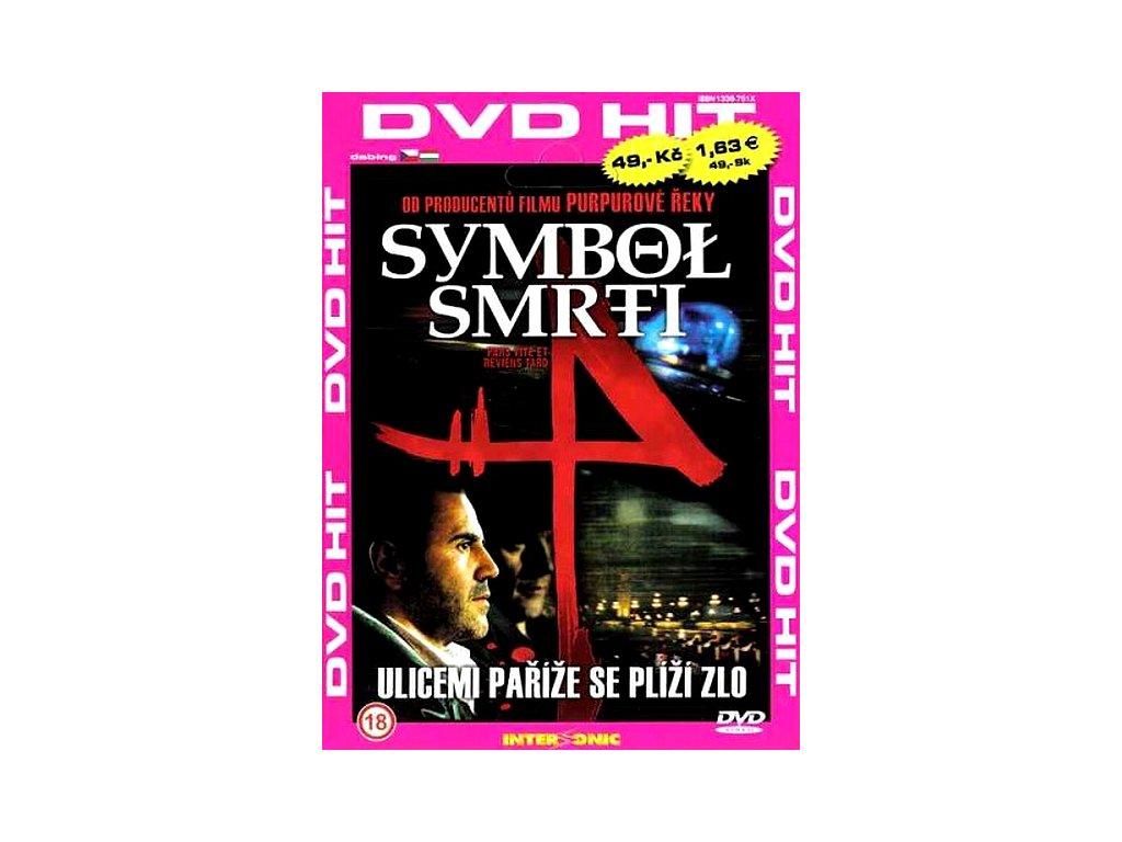 Symbol smrti DVD papírový obal