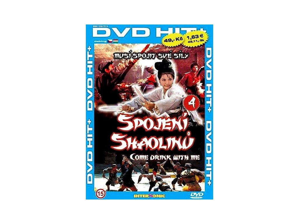 Spojení Shaolinů DVD papírový obal