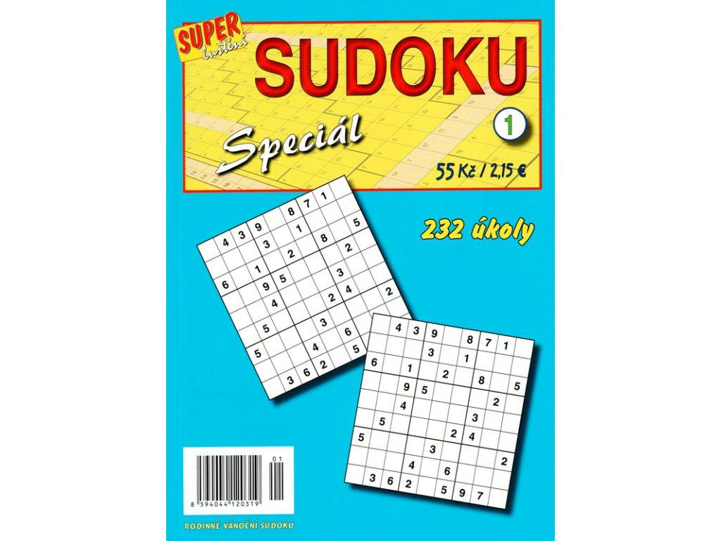 Sudoku Speciál 1 - 232 úkoly