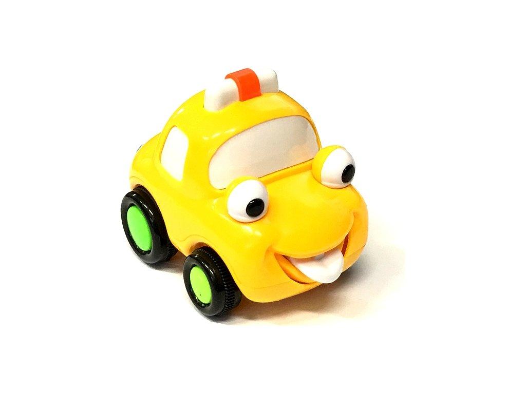 Q-Machines veselé auto žluté 3913