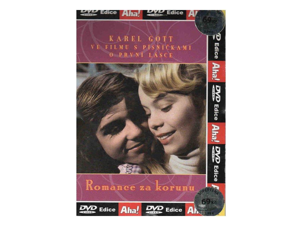 Romance za korunu DVD papírový obal