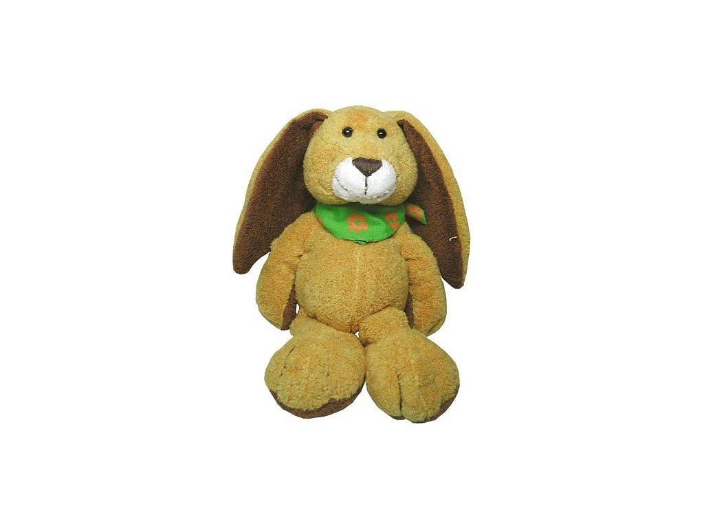 Plyšový zajíček Rudolf 10 cm