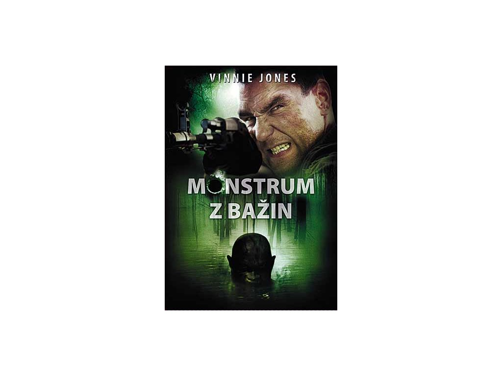 Monstrum z bažin DVD papírový obal