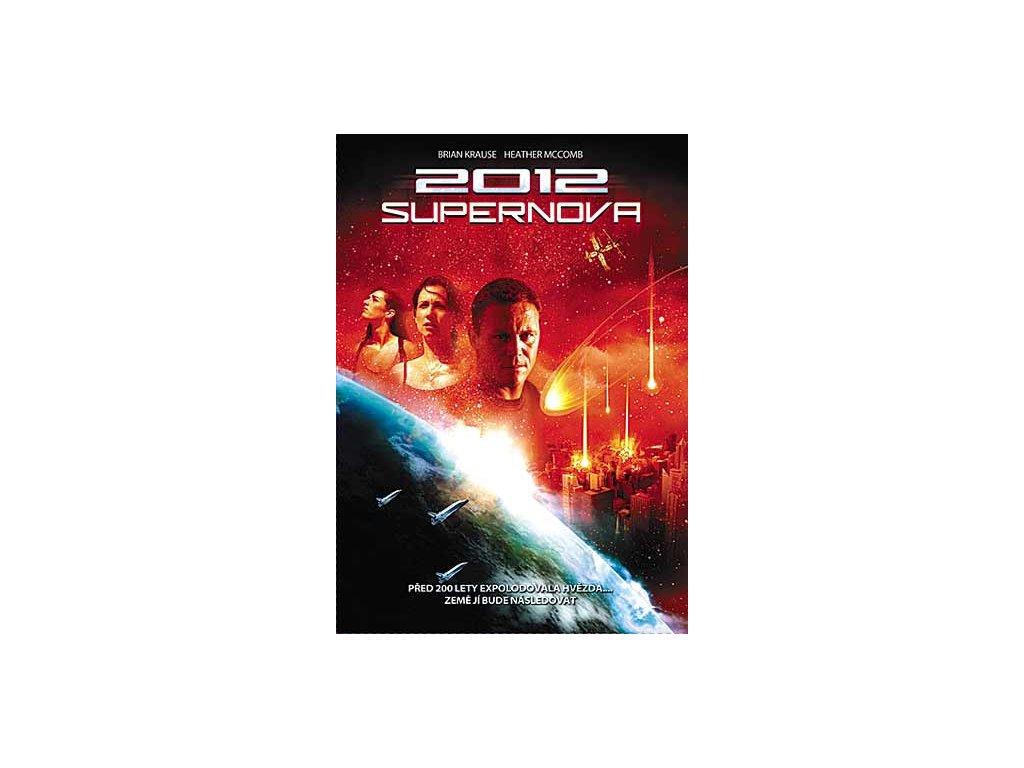 2012: Supernova DVD papírový obal
