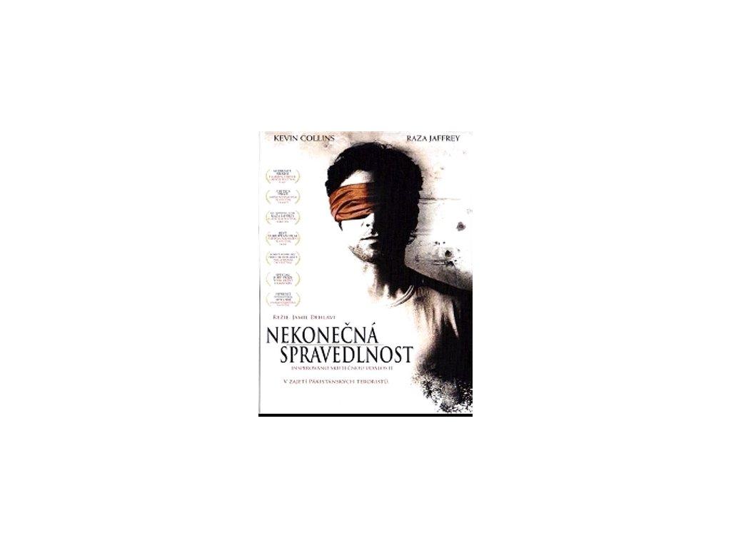 Nekonečná spravedlnost DVD papírový obal