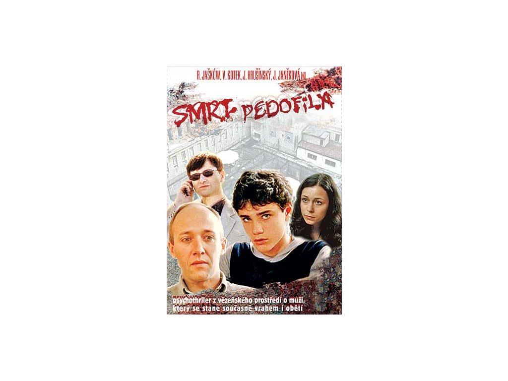 Smrt pedofila DVD papírový obal