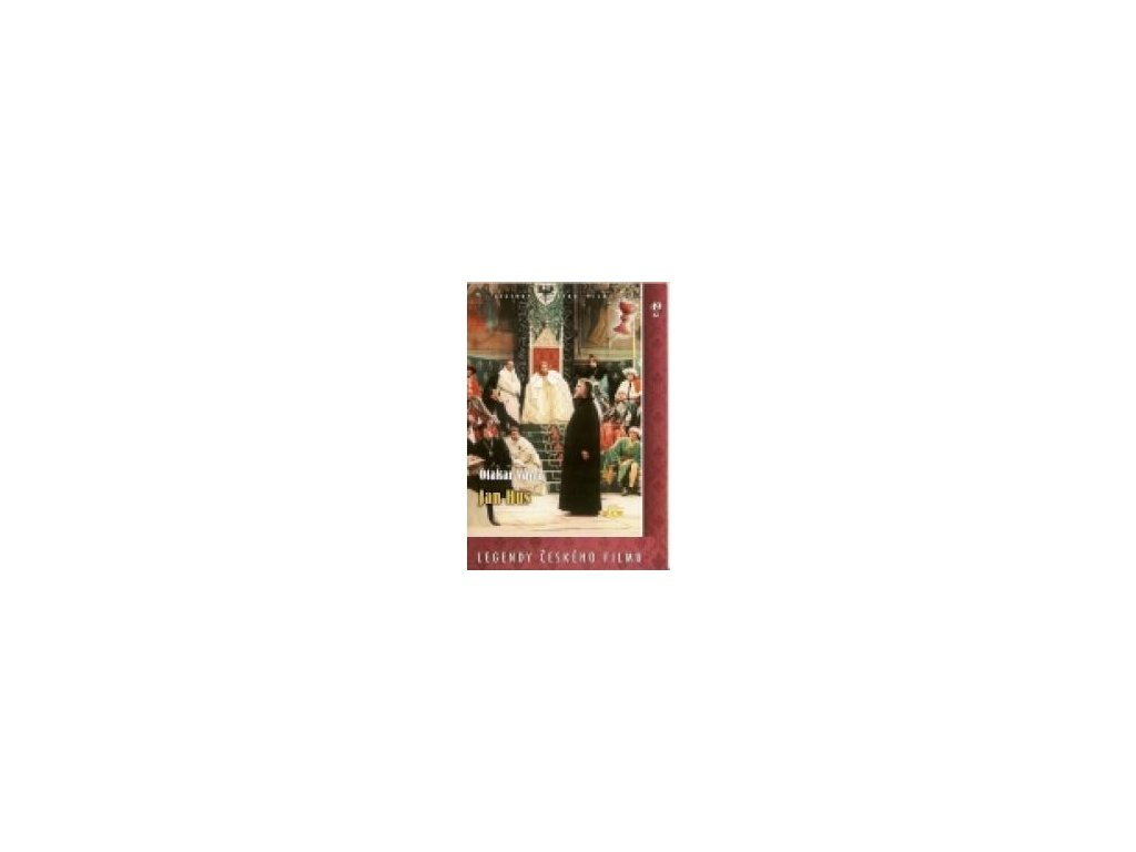 Jan Hus DVD papírový obal