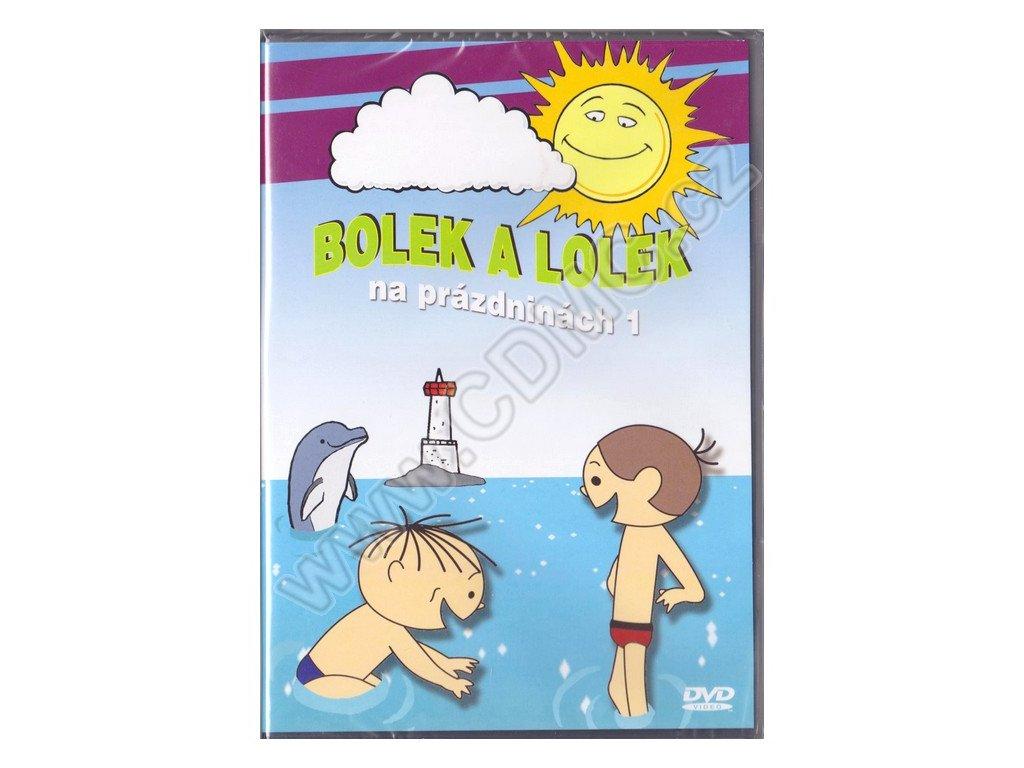 Bolek a Lolek na prázdninách 1 DVD