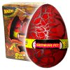 Dinosauří vejce JUMBO líhnoucí se červené (3609)