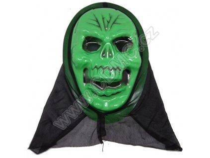 CDMC Maska Lebka zelená 1