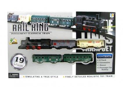 Elektrický vláček Rail King Velký A (2459)