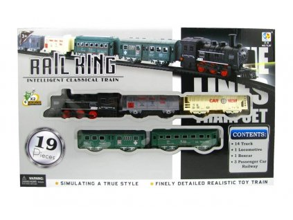 Vláček - Rail King Se světlem Velký A (2459)