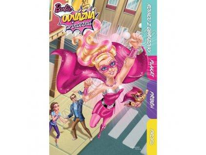 Barbie Odvážná princezna Rovnou z obrazovky, plakát, příběh, profil
