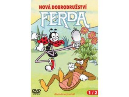 Ferda nová dobrodružství 1+2 DVD papírový obal
