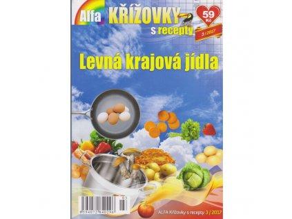 Alfa křížovky s recepty Levná krajová jídla (0296)