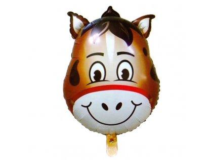 Fóliový balónek Kůň 64 cm (0001)