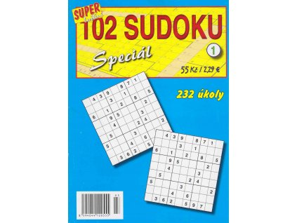 102 Sudoku Speciál 1/2018 (0555)