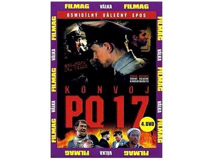 Konvoj PQ 17 4.díl DVD papírový obal